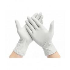 Weiß Nitril-Handschuhe...