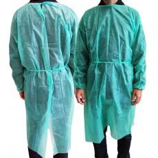 Polypropylene Gown Green 10...