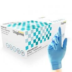Unicare Nitrile Gloves Blue...