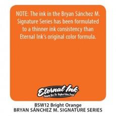 Eternal Ink Solid Bright Orange Sanchez 30ml