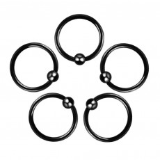Circular Ring 1 Balls Steel...