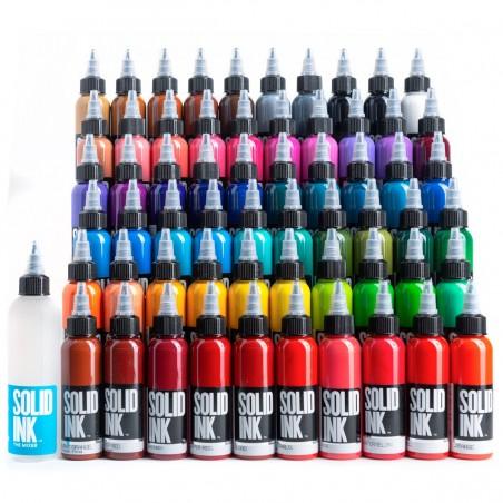 Solid Ink Set Mega Colors 60und