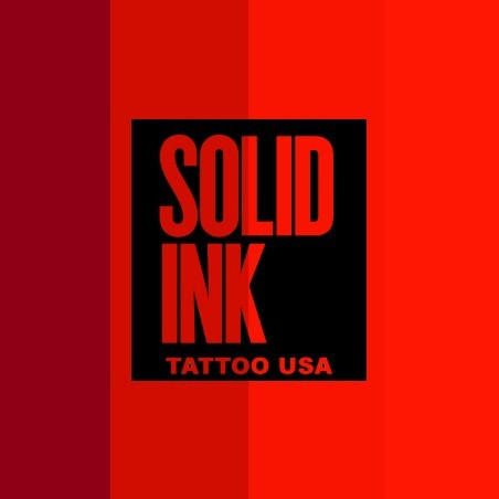 SOLID INK RED