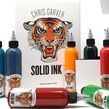 SET CHRIS GARVER SOLID INK