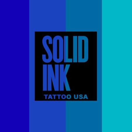 SOLID INK AZULES