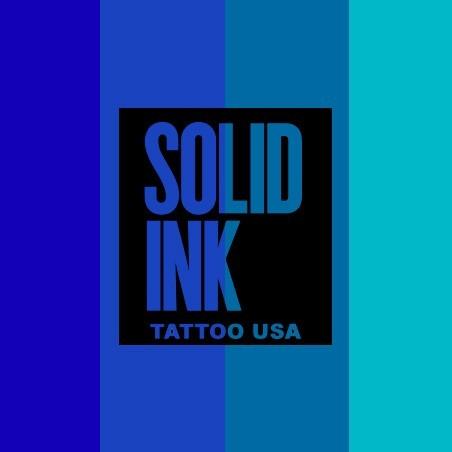 SOLID INK BLUE