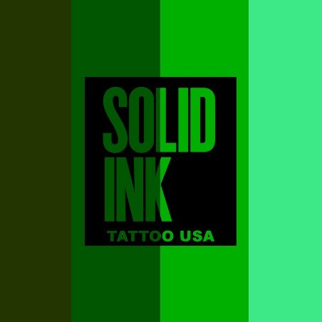 SOLID INK GREEN