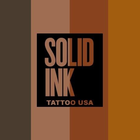 SOLID INK MARRONES