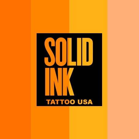 SOLID INK ORANGE