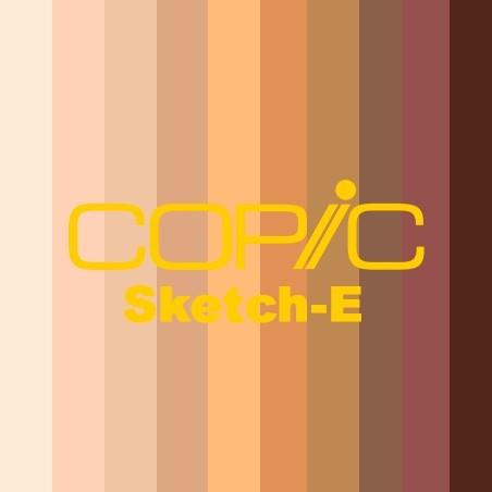COPIC SKETCH - E