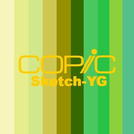 COPIC SKETCH - YG